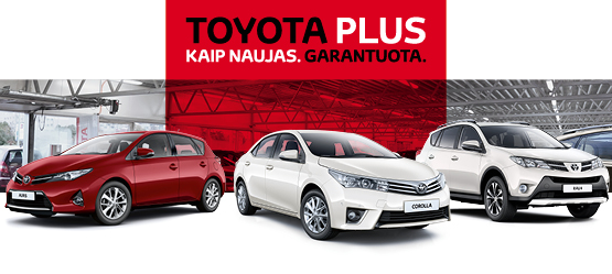 Toyota Plus. Kaip naujas. Garantuota.