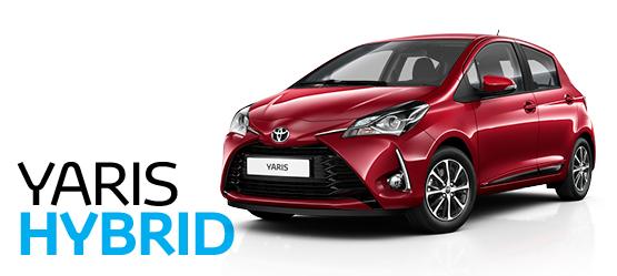 Toyota Yaris Hybrid specialus pasiūlymas