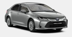 Naujasis Corolla Sedanas. Hybrid. (REZERVUOTA)