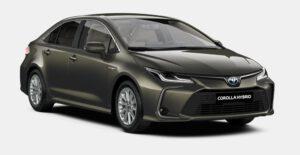 Naujasis Corolla Sedanas