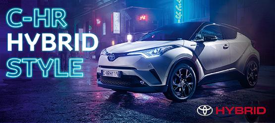 C-HR Hybrid - už benzininio modelio kainą