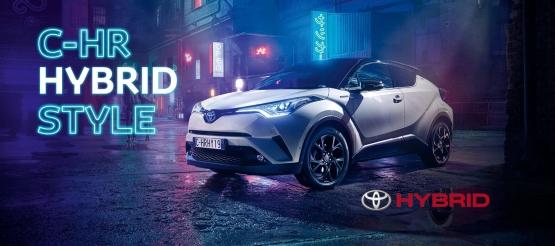 Toyota C-HR Hybrid Style ir C-Hr Style Plus pasiūlymas