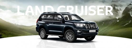 Land Cruiser specialus pasiūlymas*