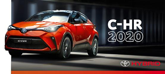 Pamirškite įprastus dalykus - naujasis Toyota C-HR 2020
