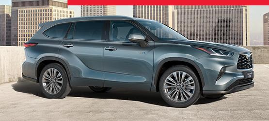 Naujojo Toyota Highlander pristatymo pasiūlymas