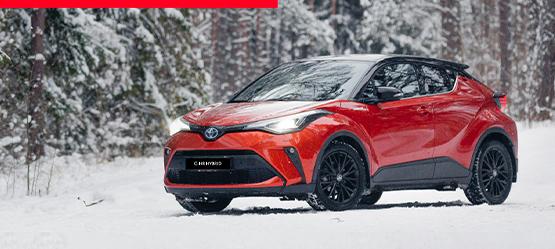 Toyota žieminių ratų komplektas