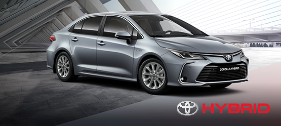 Toyota Corolla Hybrid Active Plus sedano pasiūlymas