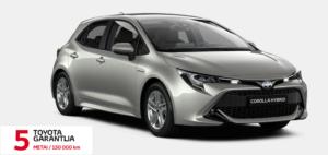 Toyota Corolla Hybrid.  Hečbekas.