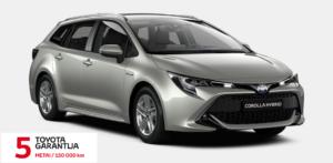 Toyota Corolla Hybrid.  Universalas.