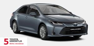 Toyota Corolla 1,8 l. Hybrid. Sedanas. MY20 (REZERVUOTA)