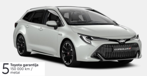 Toyota Corolla 2.0 l. Hybrid. Touring Sport
