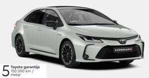 Toyota Corolla 1,8l. Hybrid. Sedanas.