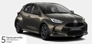 Toyota Yaris 1,5 l. Hybrid