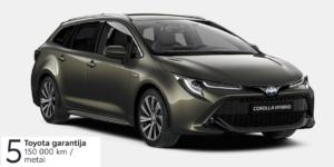 Toyota Corolla 1,8l. Hybrid. Touring Sports
