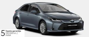 Toyota Corolla 1,8 l. Hybrid. Sedanas. MY21