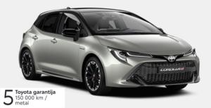 Toyota Corolla 1,8 l. Hybrid. Hečbekas