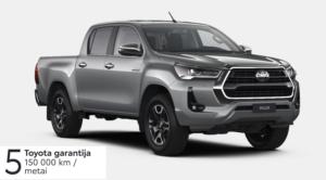 Toyota Hilux 2,8 l. (REZERVUOTA)