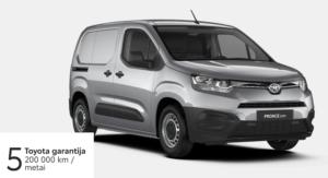 Toyota Proace City 1,5 l. Compact. (REZERVUOTA)