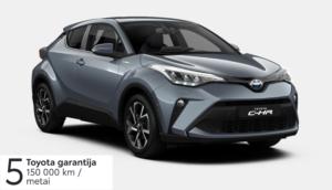 Toyota C-HR 1,8l. Hybrid (REZERVUOTA)