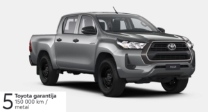 Toyota Hilux 2,4 l. (REZERVUOTA)