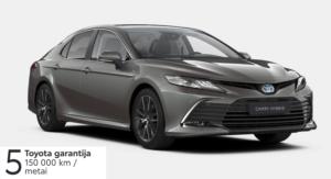 Naujasis Toyota Camry 2,5 l. Hybrid (REZERVUOTA)