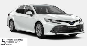 Toyota Camry 2,5 l. Hybrid (REZERVUOTA)