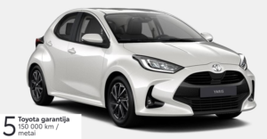 Toyota Yaris 1,5 l.