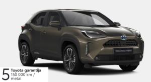 Toyota Yaris Cross 1,5 l. Hybrid