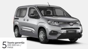 Toyota Proace City Verso 1,5l. Compact.