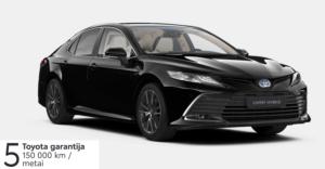 Naujasis Toyota Camry 2,5 l. Hybrid