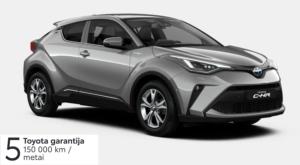 Toyota C-HR  1,8 l. Hybrid
