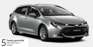 Toyota Corolla 1,2l. Touring Sports  (REZERVUOTA)